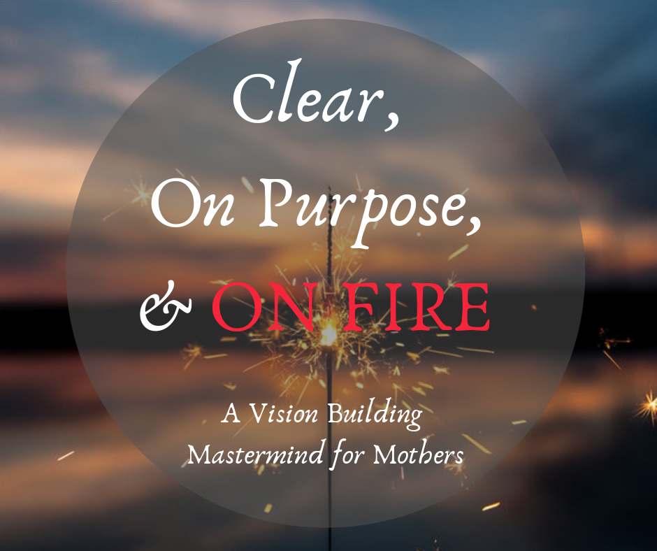 Clear, On Purpose & on Fire! Fb image